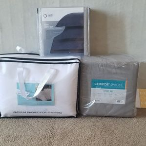 Bed Comforter, Cover set, and Sheets set